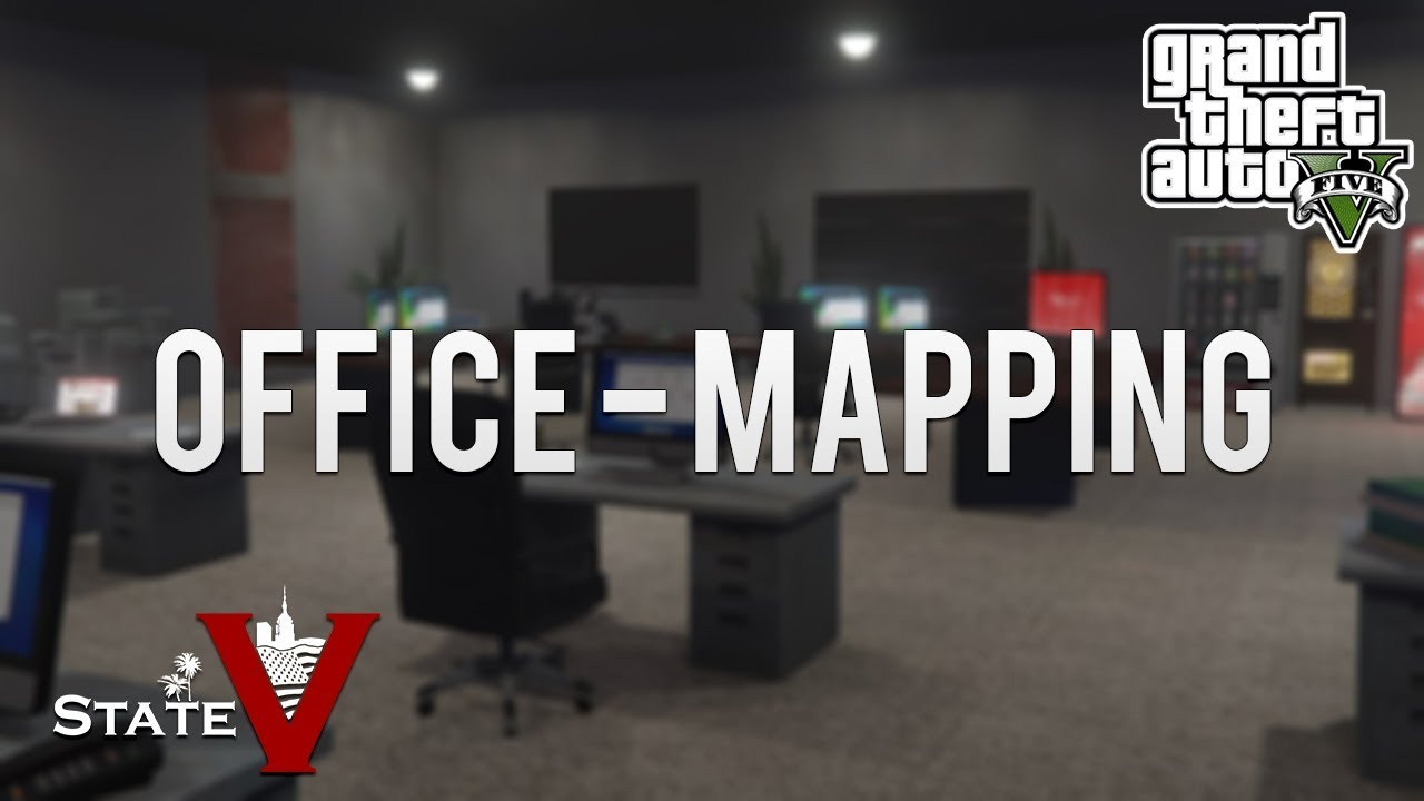 GTA:V StateV - Office-Interior [MAPPING]