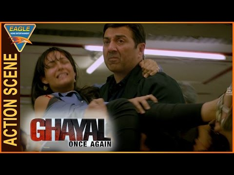 Ghayal Once Again Hindi Movie || Sunny Deol Saves Shivam Patil And His Friends || Sunny Deol