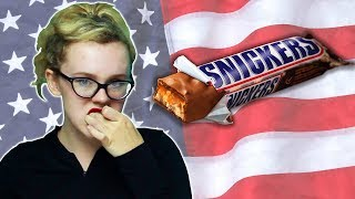 Irish People Try American Snickers