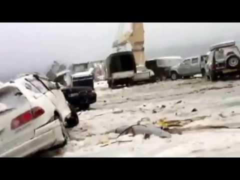 Перевозка в шторм автомобилей из Японии