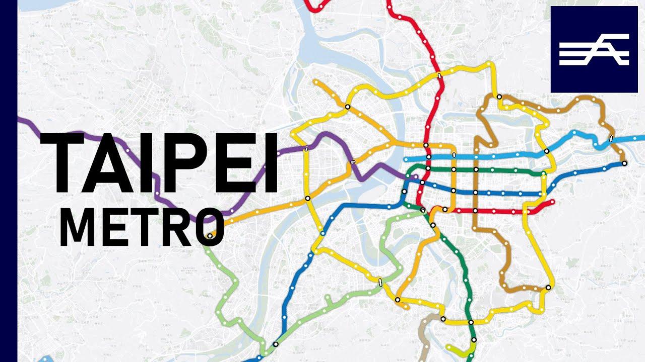 Taipei Metro Expansion 1996-2030