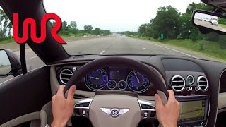 2013 Bentley Continental GTC V8 - WR TV POV Test Drive