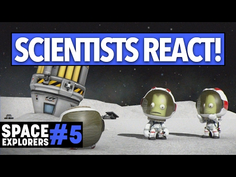 ROCKET SCIENTIST plays Kerbal Space Program! - Space Explorers Episode 5