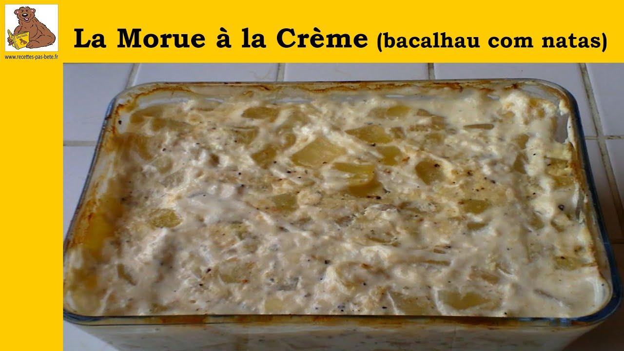 La morue à la crème (bacalhau com natas) (recette facile) HD