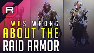 Destiny 2 I Was Wrong About the Raid Armor Q&A