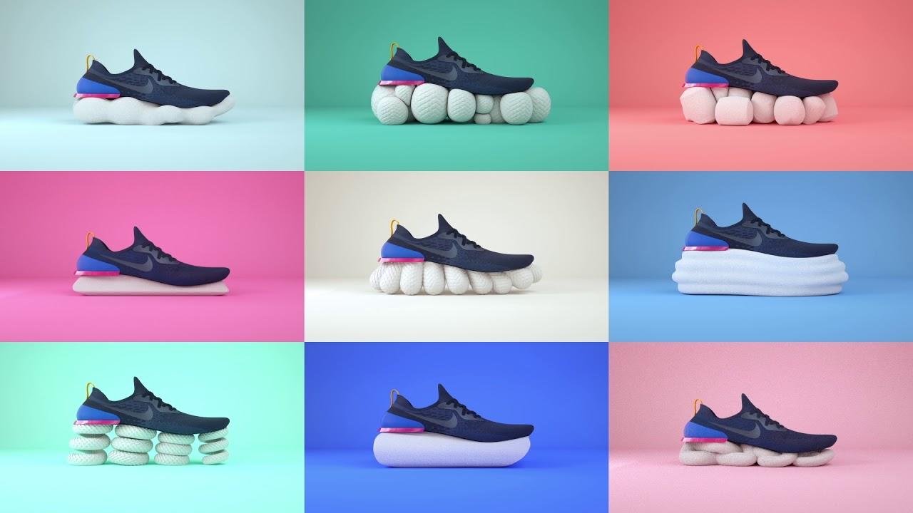 frase Perpetuo Indica  Nike Epic React Flyknit   Meet Footwear Designer Matt Pauk    SportsShoes.com - YouTube