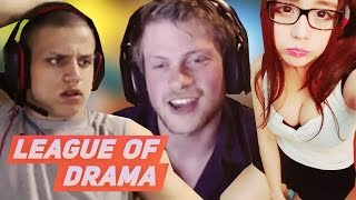 JennyTheSquirrel Post Traumatic stress disorder CRIES ON STREAM - Tyler1 1v1 Geranimo #LeagueOfDrama