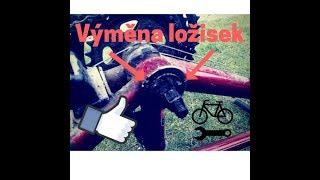 Oprava ložisek jízdního kola -DIY