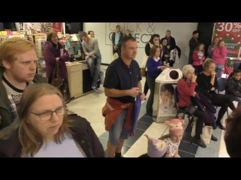Fareham Shopping Centre Full 2nd Set Rockchoir