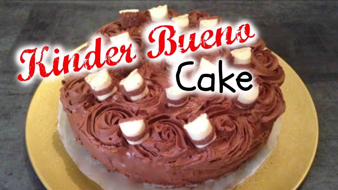 Cake Kinder Bueno Recette