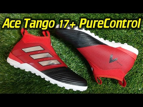 7d8090777f35 Adidas ACE Tango 17+ PureControl Turf (Red Limit Pack) - Review + On Feet -  YouTube