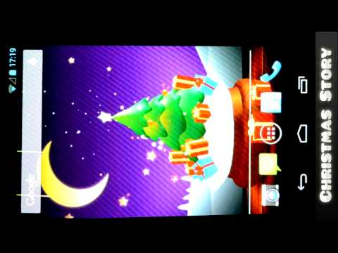 Christmas Story Live Wallpaper - Free Android App
