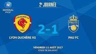 Lyon la Duchère vs Pau full match