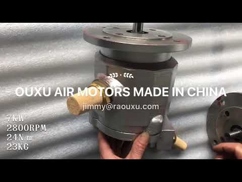 7KW VANE AIR MOTOR MOST POWERFUL MADE IN CHINA
