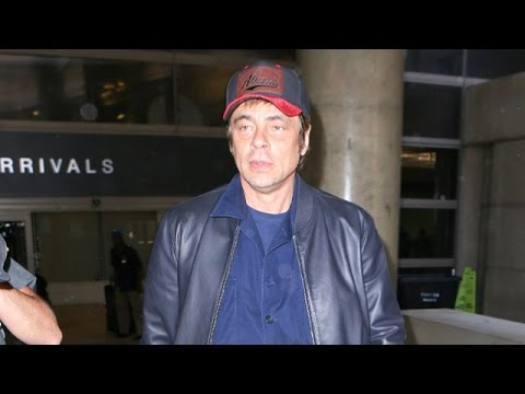 Benicio Del Toro Returns From Cannes, Is Asked About Kimberly Stewart And Harry Styles