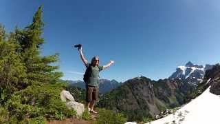 GoPro Family Hiking at Mt. Baker, Washington State 8/2012