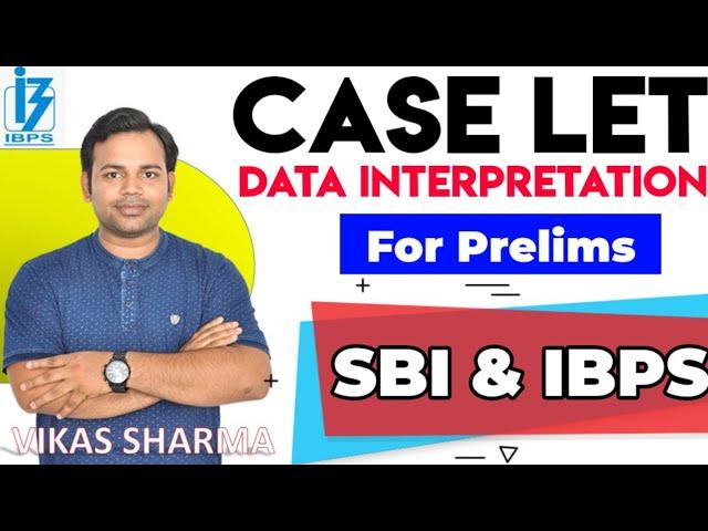 CASELET DI For PRE Exam | जिसका भी SBI , IBPS CLERK का EXAM है एक बार जरूर Practice करे