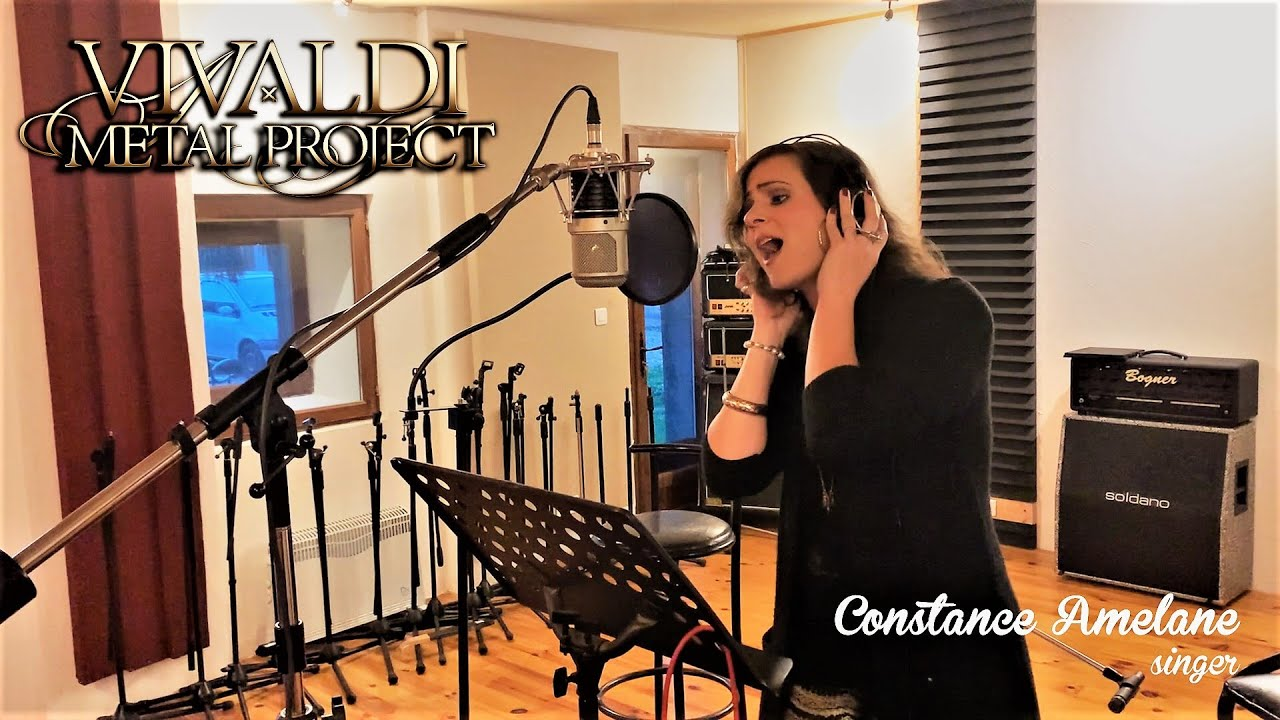 Singer Constance Amelane (Attraction Theory) message and preview from the studio about our new album
