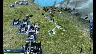 Supreme Commander 2 Gameplay 4[MAXED OUT] HD 4850