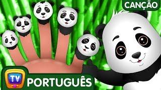 Canção da Família dos Dedos Panda | Canções de Ninar para Crianças | ChuChuTV