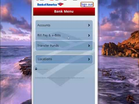 How To Use Bank Of America On Your Android Phone