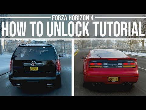 How to unlock the Nissan Fairlady 300ZX + Cadillac Escalade  -Forza Horizon 4 thumbnail