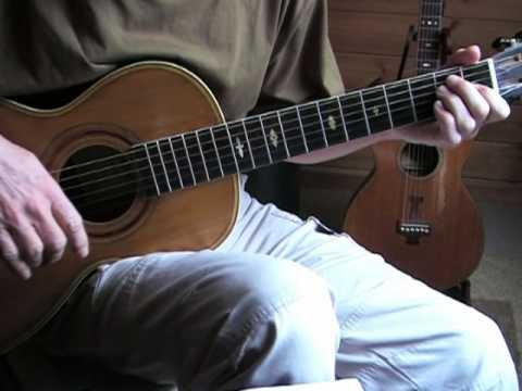 Blues in the key of E lesson - Lightnin' Hopkins - Three Times Lightnin' - Tablature explanation mp3