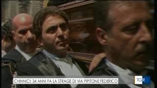 34° anniversario strage Chinnici, il servizio della Tgr Sicilia