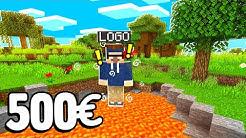 SCHADEN = FLIEGEN - 500€ Minecraft Challenge