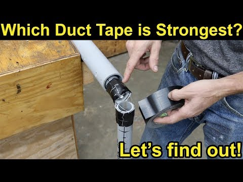 Which Duct Tape Is Strongest? Let's find out!