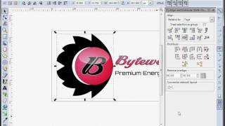 Byteweiser Inkscape Tutorial #1:  Making a Logo