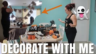Decorate with me for Halloween | Part 1