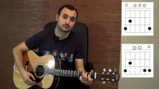 Как играть на гитаре Виктор Цой (группа Кино) - Восьмиклассница (разбор, видео урок)