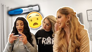 WE DID THE PREGNANCY ROULETTE CHALLENGE **SHOCKING**