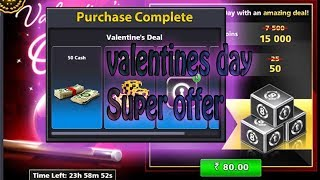 Valentines Day 8 Ball Pool Super Offer!!
