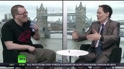 Keiser Report: Virgin Bitcoin vs Old Hag Pound (E443, ft. Frankie Boyle)
