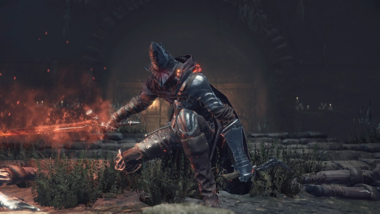 Dark souls 3 abyss watchers farron greatsword ng 7 youtube - Watchers dark souls 3 ...
