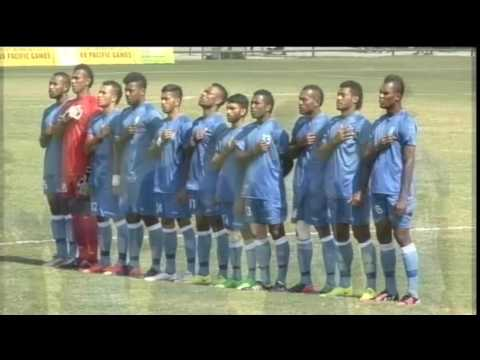 Pacific Games  2015 Football Fiji vs Tahiti