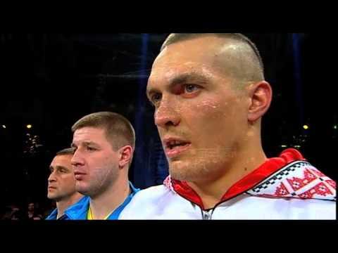 Гимн Украины. Александр Усик. Usik. National Anthem Of Ukraine.