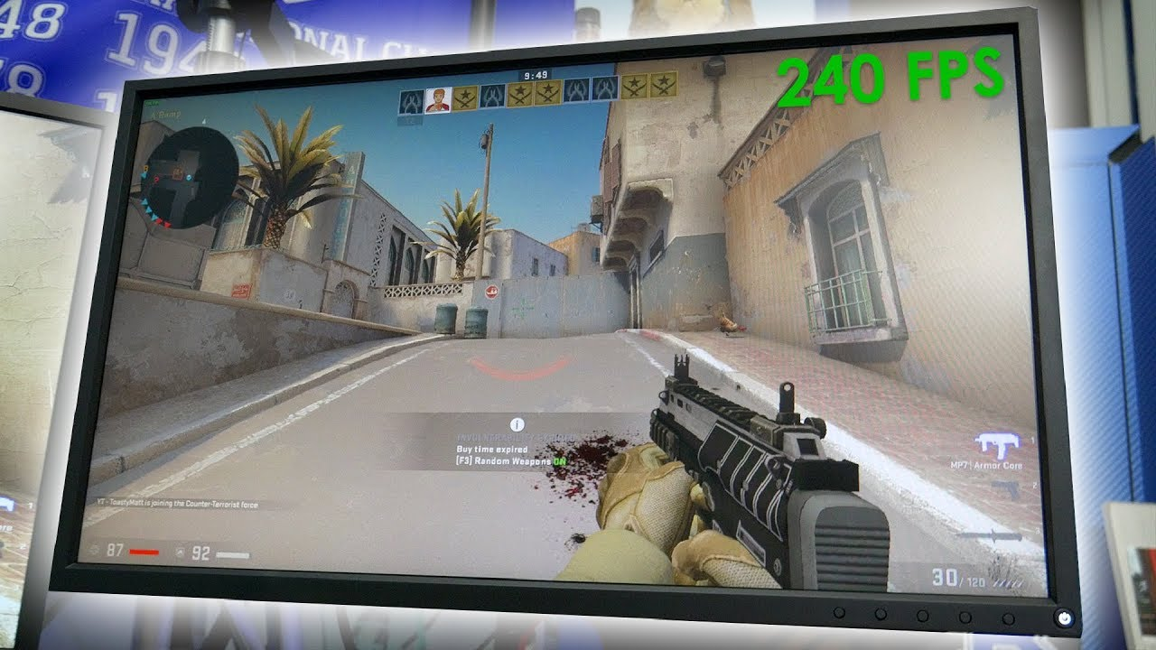Are 240Hz Monitors Worth it? BenQ Zowie XL2540 Review