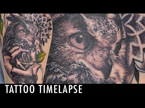 Tattoo Timelapse - Alec Turner