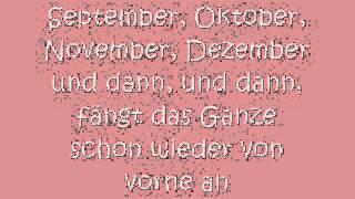 Rolfs Liederkalender - Die Jahresuhr mit Songtext