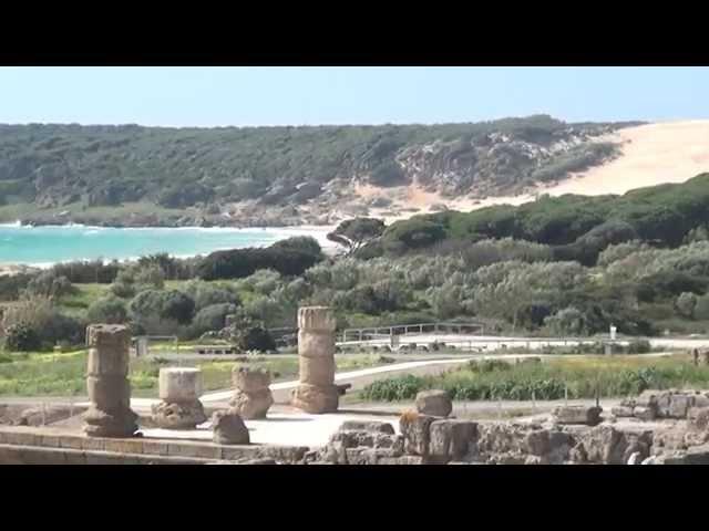 Conjunto arqueológico de Baelo Claudia en Bolonia-Cádiz