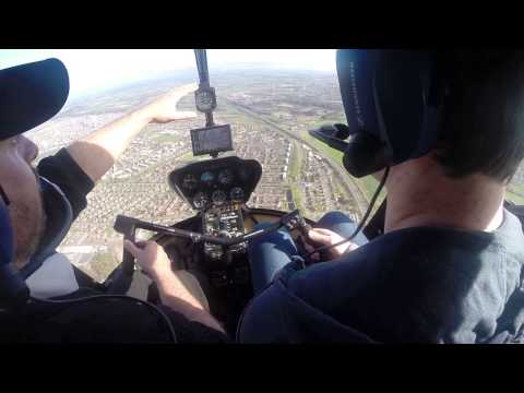 2015 04 19 Alex Smith flying a Robinson R44 helicopter