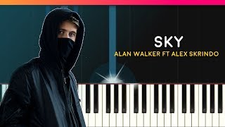 """Download Alan Walker - """"Sky"""" Piano Tutorial - Chords - How To Play - Cover Mp3"""