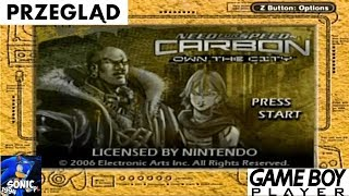 Przegląd Game Boy Player #12 (PL) - Need for Speed Carbon: Own The City