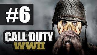 Call Of Duty WW 2 - Прохождение на русском - часть 6 - Авиаудар