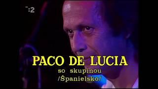 Paco de Lucia's original sextet concert 1988 (Carles Benavent, Rubem Dantas, Jorge Pardo, Pepe)