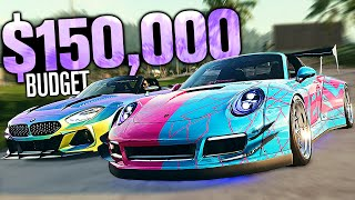 Need for Speed HEAT - $150,000 Budget Build! (Widebody Z4 vs Widebody 911)