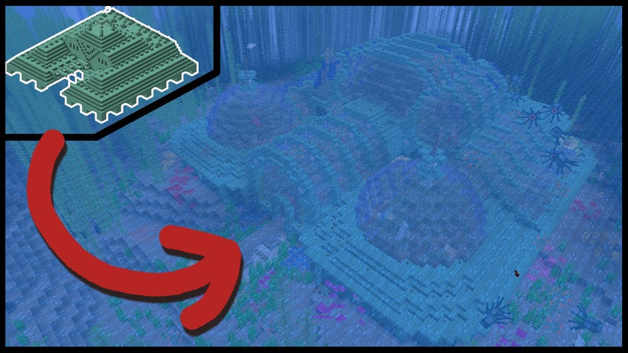 Minecraft Let S Transform An Ocean Monument Youtube With